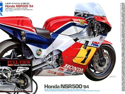 """Tamiya 1/12 Honda NSR500 '84 - """"Full View"""""""