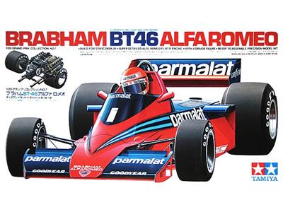 Tamiya 1/20 Brabham BT46 Alfa Romeo