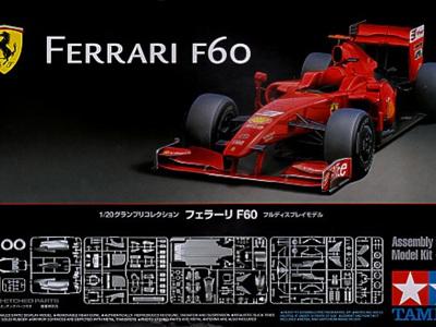 Tamiya 1/20 Ferrari F60