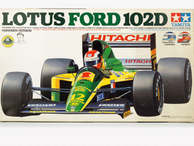 Tamiya  1/20 Lotus Ford 102D Hakkinen Version