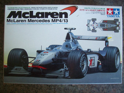 Tamiya 1/20 McLaren Mercedes MP4/13