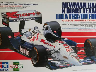 Tamiya 1/20 Newman Haas K-Mart Texaco Lola T93/00 Ford