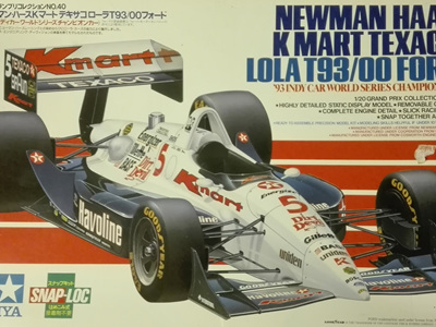 Tamiya 1/20 Newman Haas K-Mart/Texaco Lola T93/00 Ford Mansell/Andretti