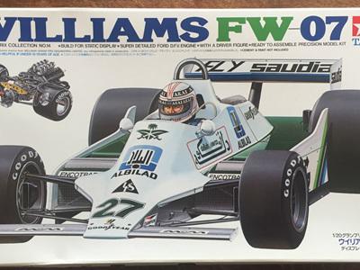 Tamiya 1/20 Williams FW07