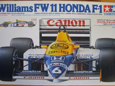 Tamiya 1/20 Williams FW11 Honda