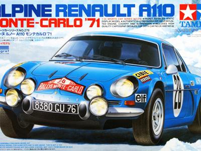 Tamiya 1/24 Alpine Renault A110 Monte-Carlo 1971
