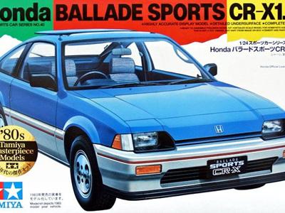 Tamiya 1/24 Ballade Sports CR-X 1.5i Kit - C-440