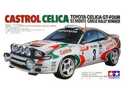 Tamiya 1/24 Celica GT-4 '93 Monte-Carlo Rally