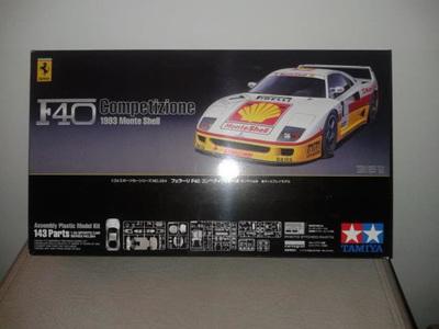 Tamiya 1/24 Ferrari F40 1993 Monte Shell