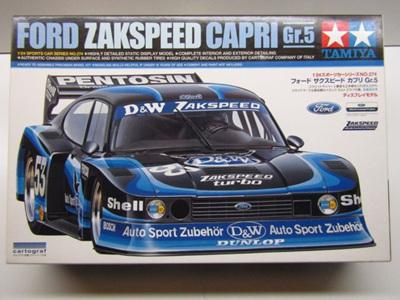 Tamiya 1/24 Ford Zakspeed Capri Gr.5