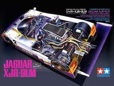 Tamiya 1/24 Jaguar XJR-9LM