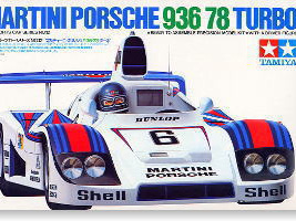 Tamiya 1/24 Martini Porsche 936-78 Turbo