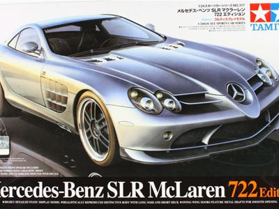 Tamiya 1/24 Mercedes-Benz SLR McLaren 722 Edition