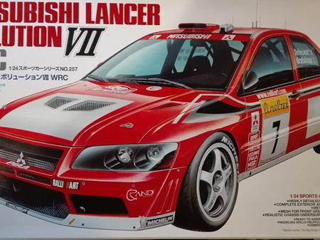 Tamiya 1/24 Mitsubishi Lancer Evo VII WRC