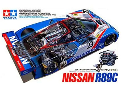 Tamiya 1/24 Nissan R89C Calsonic