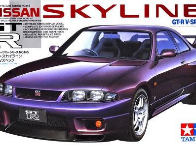 Tamiya 1/24 Nissan Skyline GT-R V-Spec
