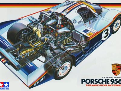 Tamiya 1/24 Rothmans Porsche 956 83 Le Mans Winner
