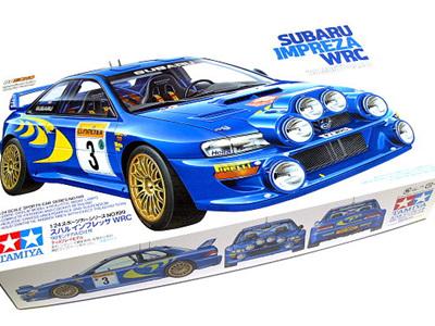 Tamiya 1/24 Subaru Impreza WRC 1998 Monte Carlo