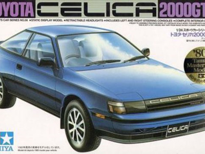 Tamiya 1/24 Toyota Celica 2000 GTR
