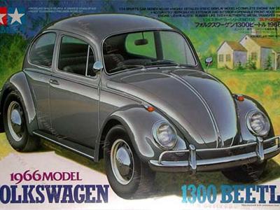 Tamiya 1/24 Volkswagen 1300 Beetle 1966