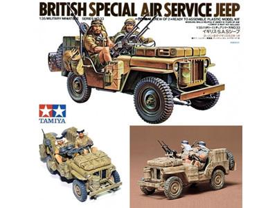Tamiya 1/35 British SAS Jeep