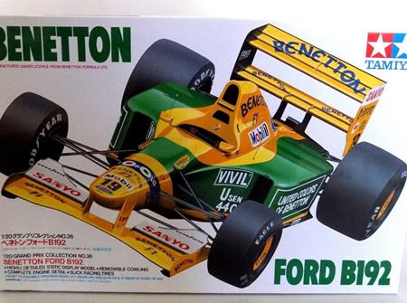 Tamiya 1/20 Benetton Ford B192 (TAM20036)