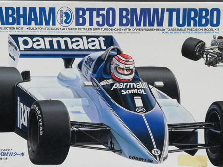 Tamiya 1/20 Brabham BT50 BMW Turbo