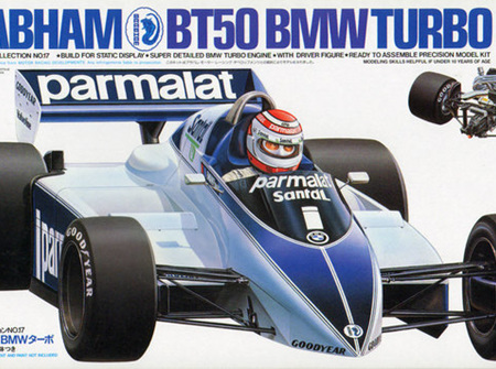 Tamiya 1/20 Brabham BT50 BMW Turbo (TAM20017)