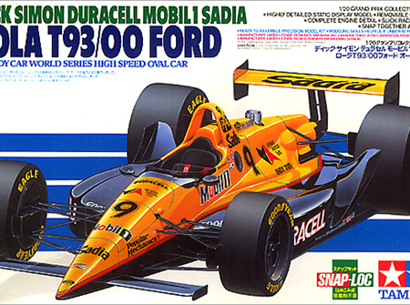 Tamiya 1:20 Dick Simon Duracell Mobil 1 Sadia lola T93-00 Ford (TAM20041)