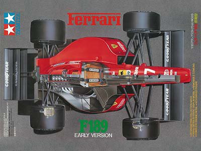 Tamiya 1/20 Ferrari F189 (Early Version)
