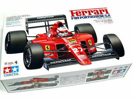 Tamiya 1/20 Ferrari F189 Portuguese GP (Late Version) (TAM20024)