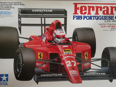 Tamiya 1/20 Ferrari F189 Portuguese GP (Late Version)