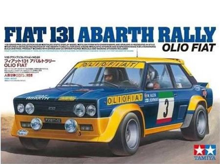 Tamiya 1/20 Fiat 131 Abarth Rally Olio Fiat (TAM20069)
