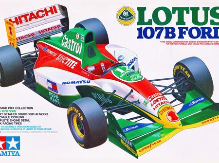 Tamiya 1/20 Lotus 107B Ford (TAM20038)