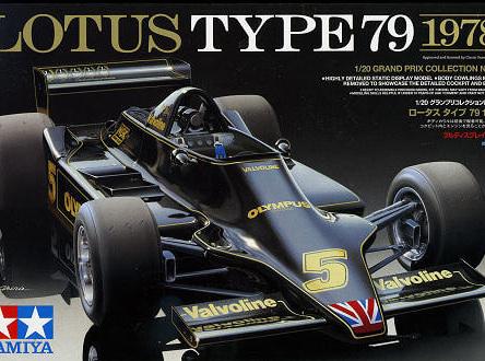 Tamiya 1/20 Lotus Type 79 1978 (TAM20060)