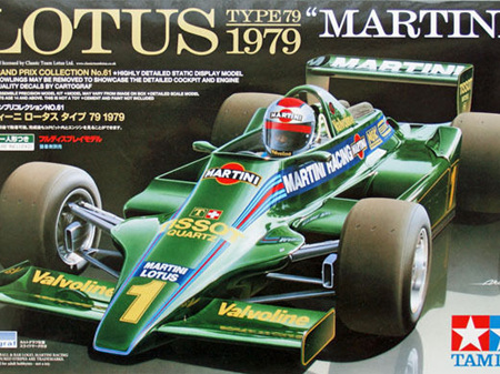 Tamiya 1/20 Lotus Type 79 1979 Martini