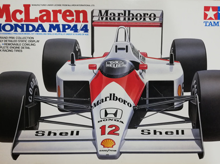 Tamiya 1/20 McLaren MP4/4 Honda (TAM20022)