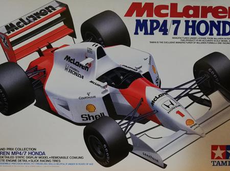 Tamiya 1/20 McLaren MP4/7 Honda (TAM20035)