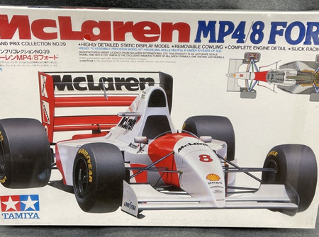 Tamiya 1/20 McLaren MP4/8 Ford (TAM20039)