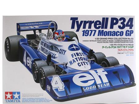 Tamiya 1/20 Tyrrell P34 1977 Monaco GP (TAM20053)