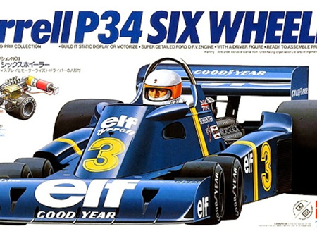 Tamiya 1/20 Tyrrell P34 Six Wheeler (TAM20001)