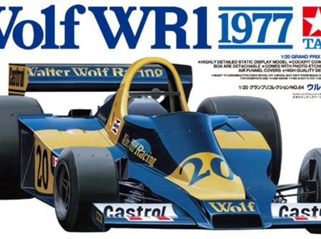 Tamiya 1/20 Wolf WR1 1977 w/Photoetch Parts
