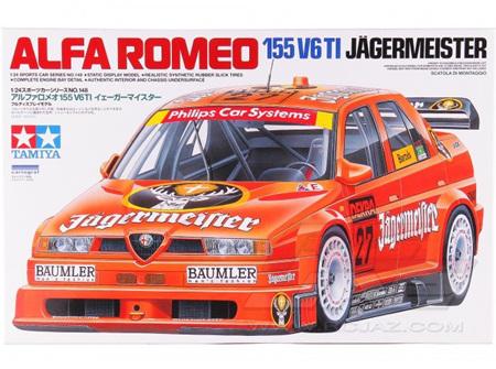 Tamiya 1/24 Alfa Romeo 155 V6 TI Jagermeister (TAM24148)