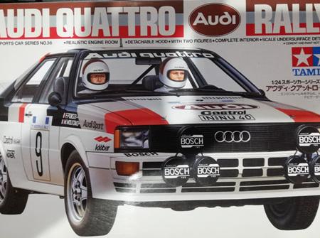 Tamiya 1/24 Audi Quattro Rally (TAM24036)