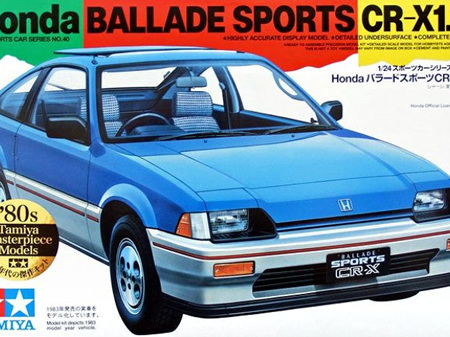 Tamiya 1/24 Ballade Sports CR-X 1.5i Kit - C-440