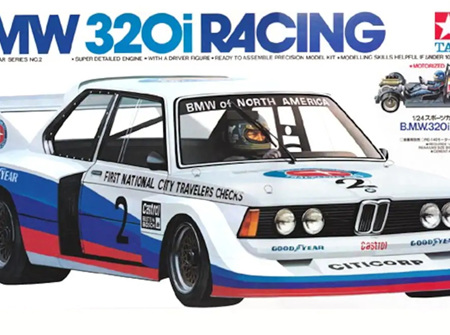 Tamiya 1/24 BMW 320i Racing (TAM24002)