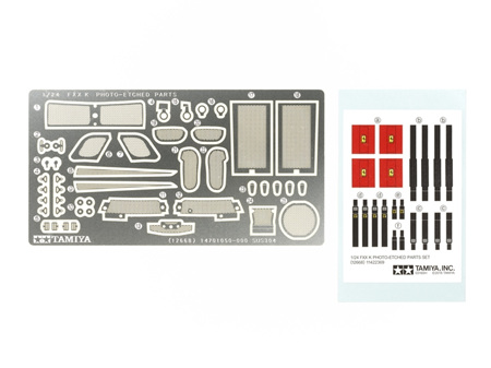 Tamiya 1/24 Ferrari FXX K Photo-Etched Parts Set