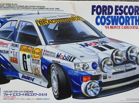 Tamiya 1/24 Ford Escort RS Cosworth 4x4 94 Monte Carlo Rally Winner (TAM24144)