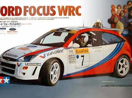 Tamiya 1/24 Ford Focus WRC (TAM24217)