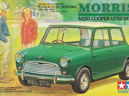 Tamiya 1/24 Morris Mini Cooper 1275S Mk.1 (TAM24039)